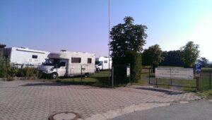 Wohnmobil Stell und Campingplatz auf der Höh