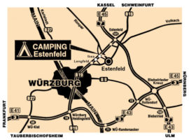 Campingplatz Estenfeld / Würzburg