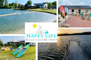 Häppy Life Camping Blaue Lagune Twist