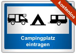 Campingplatz eintragen