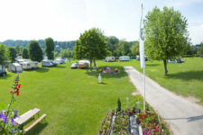 Camping am Fluss in Steyr Oberösterreich