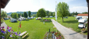 Camping am Fluss in Steyr Oberösterreich